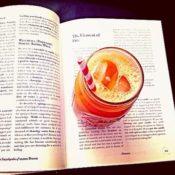 Refreshing Honeydew Carrot Plum Juice