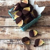 Dreamy Chocolate Covered Figs