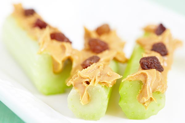 creative ways to eat celery logs