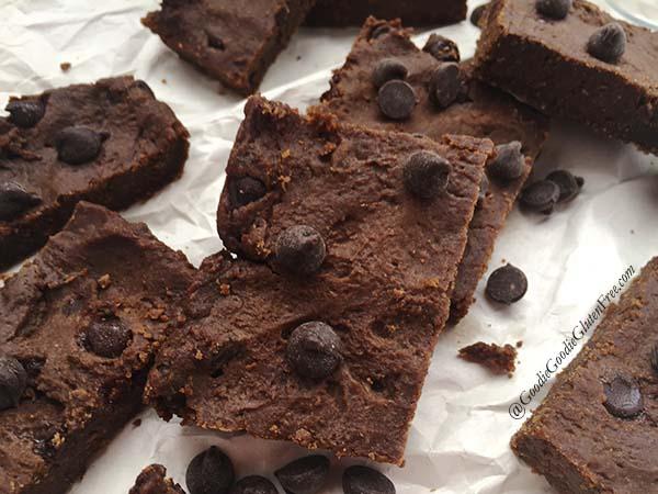 copycat pure genius chocolate chickpea gluten free brownies
