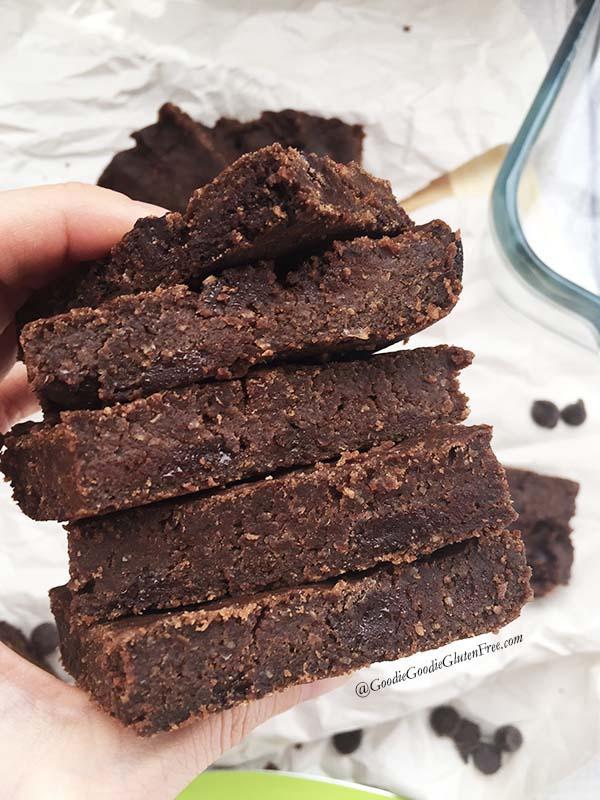 pure genius copycat chocolate chickpea gluten free brownies