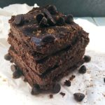 gluten free expresso chocolate brownie recipe nut free vegan