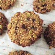 Gluten-Free TigerNut Breakfast Cookies {Vegan/Sugar/Nut-Free}