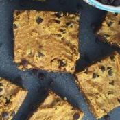 Gluten-Free Turmeric Spice Blondies {Vegan, Nut-Free}