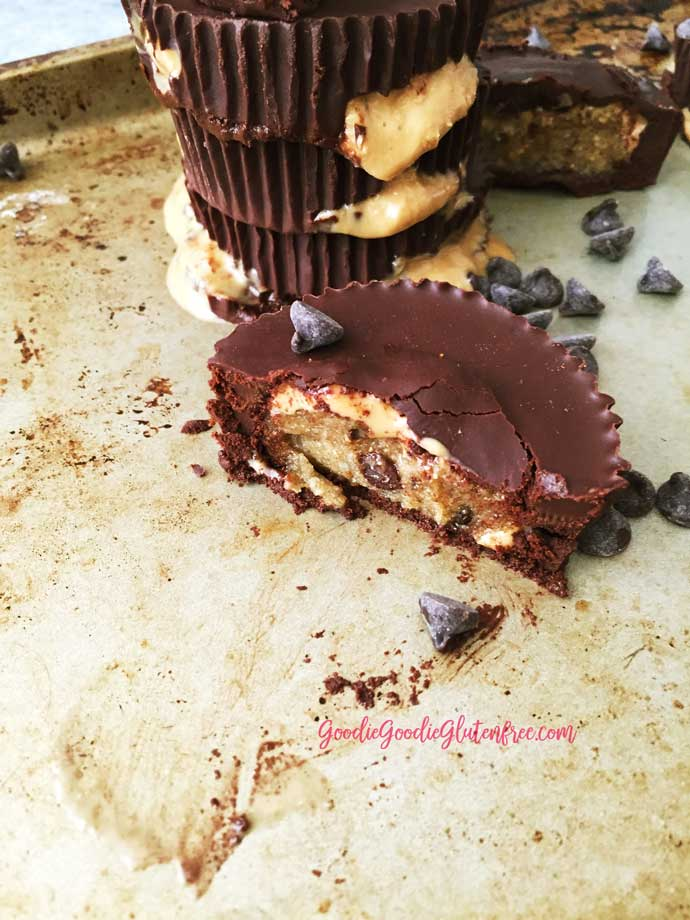 Ooey Gooey Everything But The Kitchen Sink Cashew Butter Cups - Healthy / Vegan / Paleo
