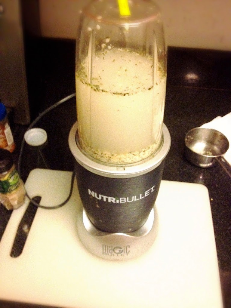 making homemade hemp seed milk