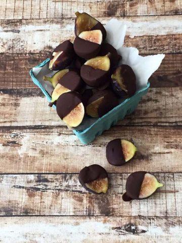 gluten free chocolate figs