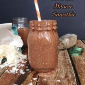 Chocolate Mousse Smoothie {paleo, vegan}