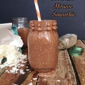 Chocolate Mousse Smoothie {Gluten-Free, Paleo, Nut-Free}