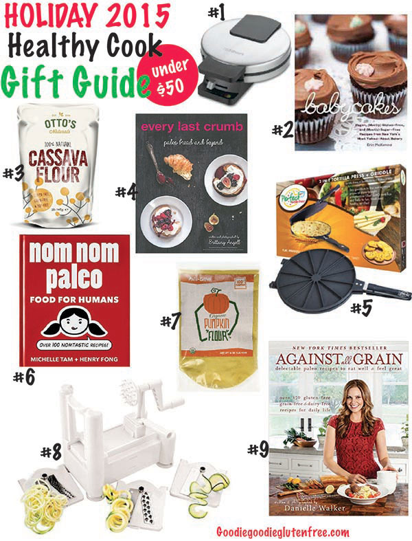 ultimate healthy cook 2015 gift guide