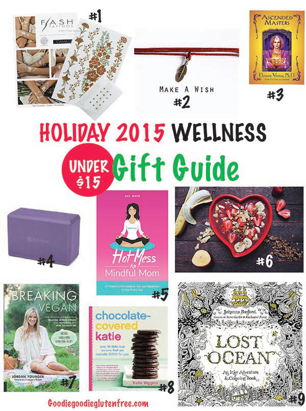 ultimate wellness gift guide under 15 2015