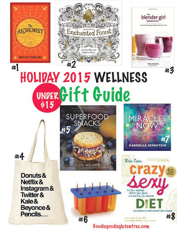 ultimate wellness holiday gift guide 2015 under 15