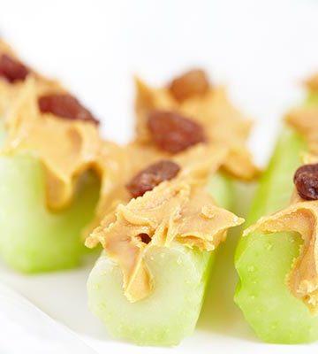 creative ways to eat celery logs