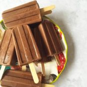 Chocolate Coconut Cream Gluten-Free Fudgesicles
