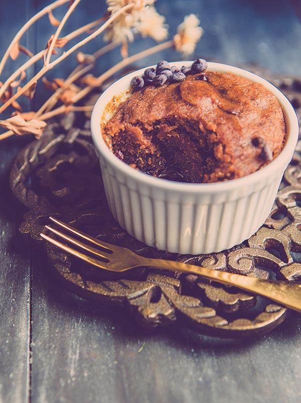 gluten free pumpkin mug cake