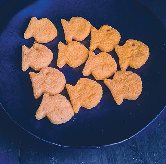 gluten free goldfish cracker snacks