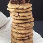 gluten free best chocolate chip chewy cookies