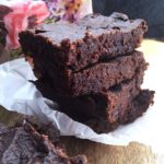 gluten free black bean vegan brownies