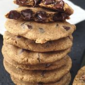 The BEST Grain-Free Chewy Chocolate Chip Cookie Recipe {Vegan, Nut-Free}