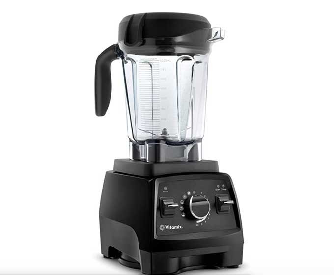 the vitamix blender used for lump free green smoothies