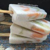 Dairy-Free Cantaloupe Honeydew Popsicles {Vegan, Paleo, Nut-Free}