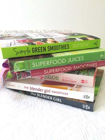 6 best juices smoothie recipe books