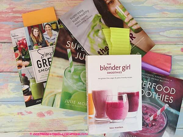 6 best smoothie juice recipe books