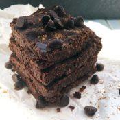 Gluten-Free Espresso Brownies {vegan, nf}