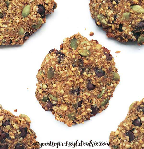 Delicious Gluten Free Tigernut Breakfast Cookies That Are Nut-Free and Vegan by Julie Rosenthal