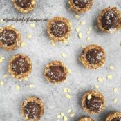 No Bake Mini Chocolate Mousse Tarts {Gluten-Free, Nut-Free, Vegan}