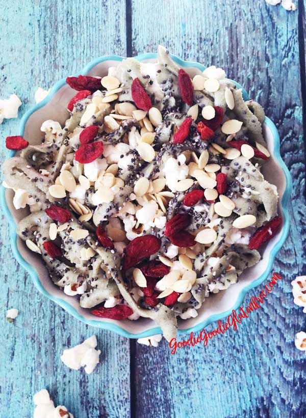 Superfood Popcorn Nachos