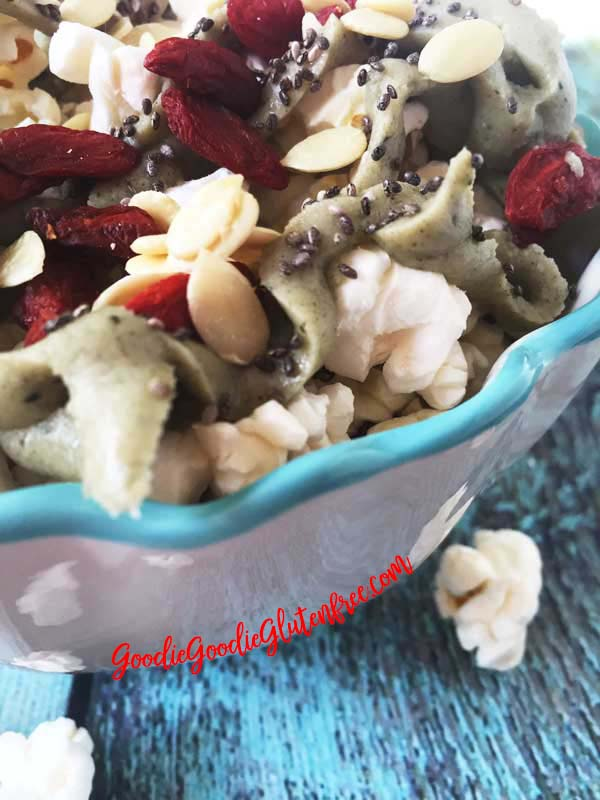 Vegan Superfood Popcorn Nachos Nut-Free