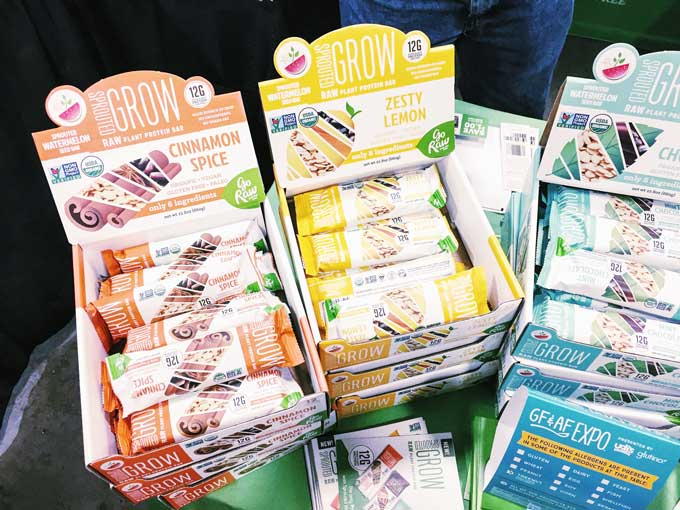 Review of the GFAF Expo Food Show in New Jersey - Go Raw Watermelon Seed Bars