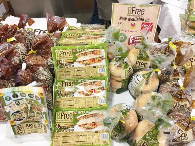 Review of the GFAF Expo Food Show in New Jersey - BFree Breads
