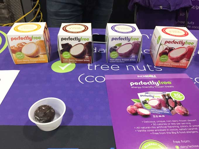 Review of the GFAF Expo Food Show in New Jersey - Perfectly Free Frozen Dessert
