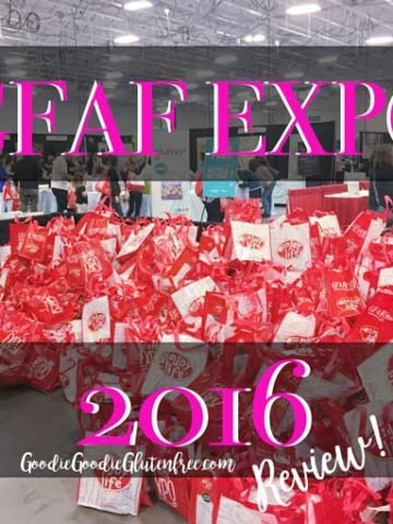 Review of the GFAF Expo Food Show in New Jersey