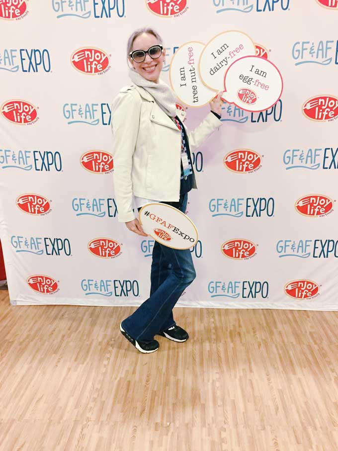 Review of the GFAF Expo Food Show in New Jersey - Health Coach Julie