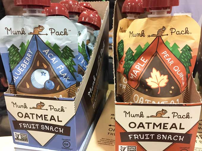 Review of the GFAF Expo Food Show in New Jersey - Munk Pack Oatmeal