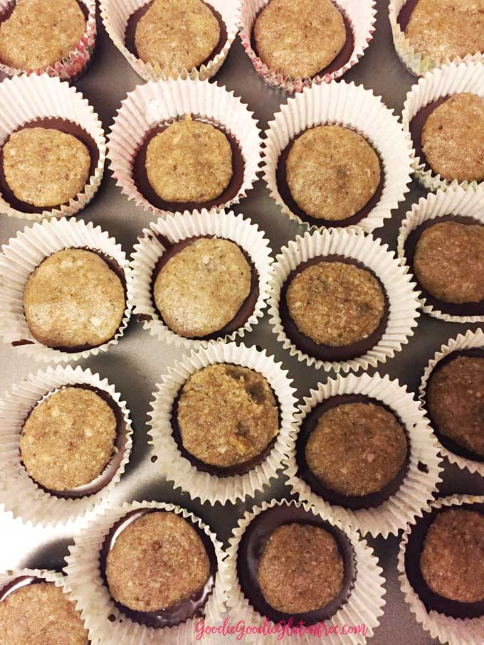 How to assemble the Everything But The Kitchen Sink Cashew Butter Cups - Healthy / Vegan / Paleo