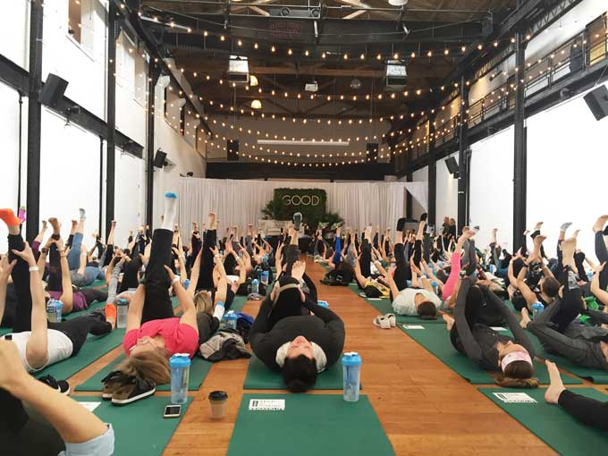 Good. A wellness fest in Philly 2017 yoga review