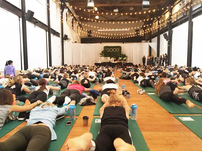 Good. A wellness fest in Philly 2017 yoga