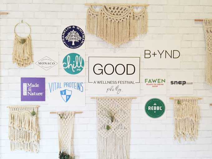 Good. A wellness festival in Philly by Kate Van Horn and Health Coach Philly Review