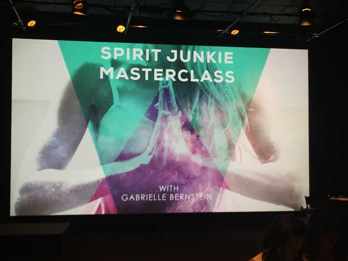 Spirit Junkie Masterclass Quotes Live