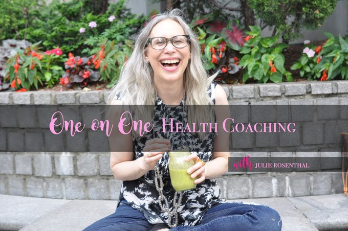 one on one health coaching with julie rosenthal - a spin on traditional coaching for celiac's