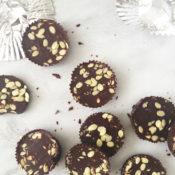 Gluten-Free Chocolate Crunch Cups { Nut-free, Vegan}
