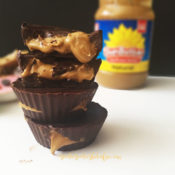 Homemade Salted Sunbutter Cups {Nut-free, Paleo, Sugar-free}