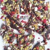 Superfood Chocolate Bark {gf, nf, vegan}