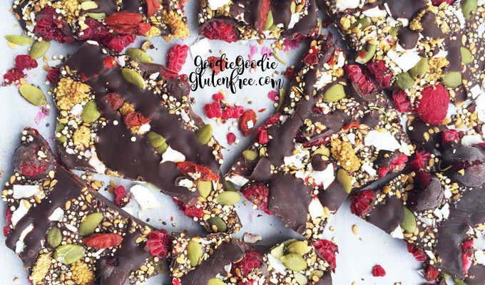 Superfood Bark {Gluten-free, Nut-free, Vegan}