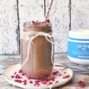 Chocolate Zucchini Vital Proteins Smoothie {Paleo}