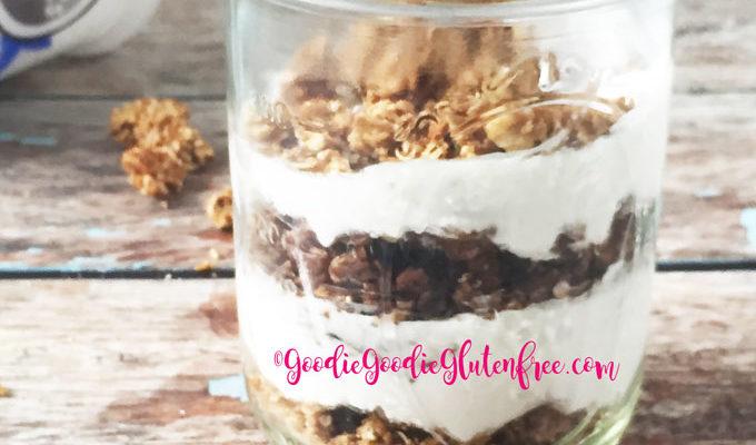 Healthy Coconut Yogurt Parfait with Granola {Dairy-Free, Nut-Free}